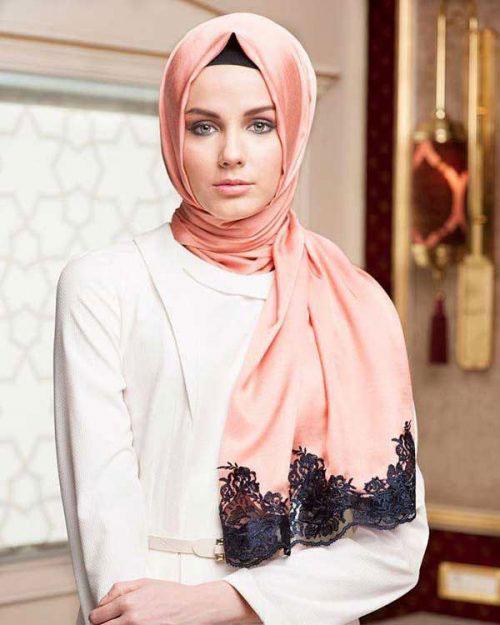 آموزش بستن شال با حجاب کامل