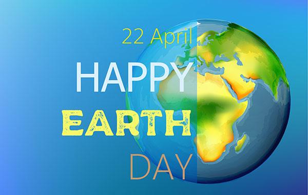 عکس نوشته روز زمین پاک