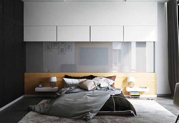 فرش طوسی اتاق خواب