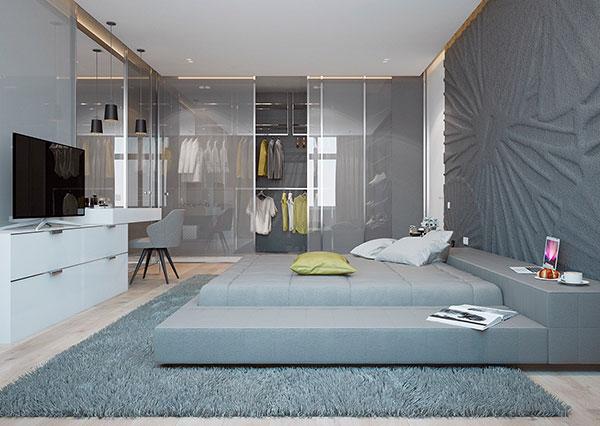 فرش اتاق خواب طوسی
