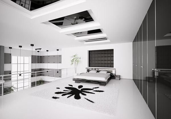 دکوراسیون داخلی اتاق خواب لاکچری
