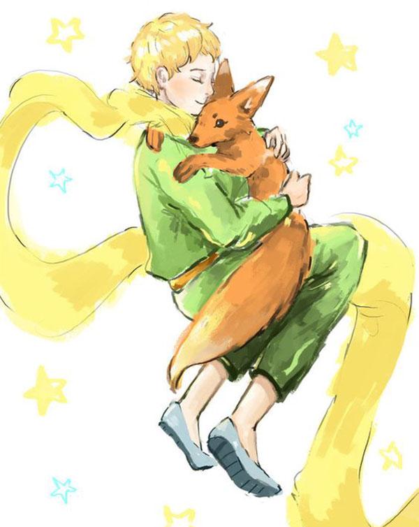 عکس بدون متن شازده کوچولو و روباه