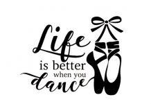 عکس نوشته در مورد رقصیدن