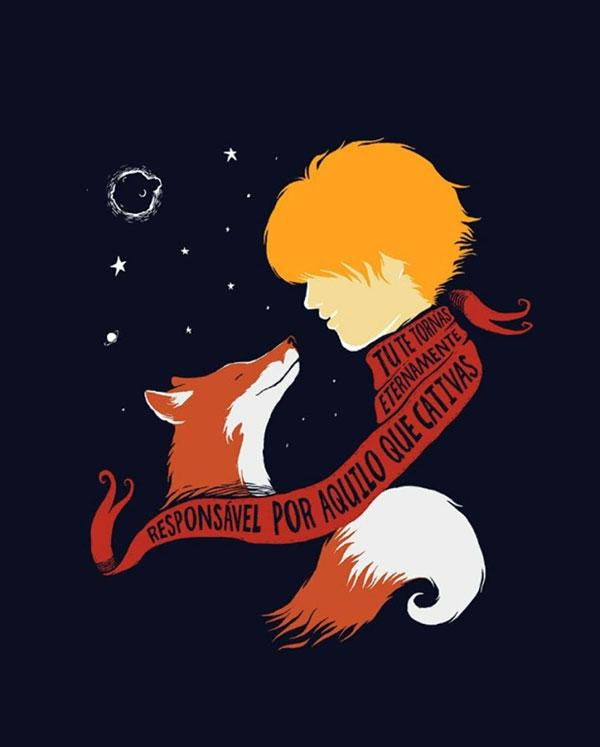 عکس بک گراند شازده کوچولو و روباه