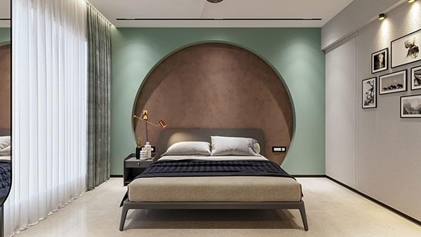 دکوراسیون اتاق خواب دخترانه سبز