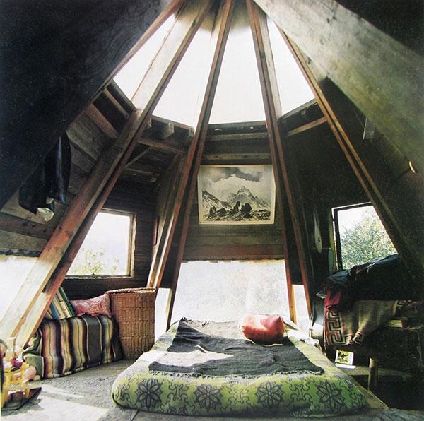 دکوراسیون داخلی اتاق خواب با رنگ سبز