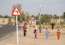 انشا درباره آن چه در مسیر خانه تا مدرسه می بینید