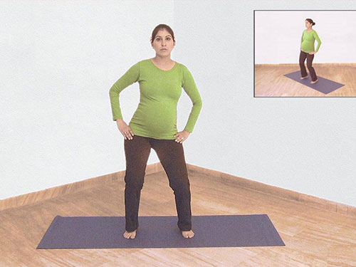 حرکت چرخش لگن در یوگا