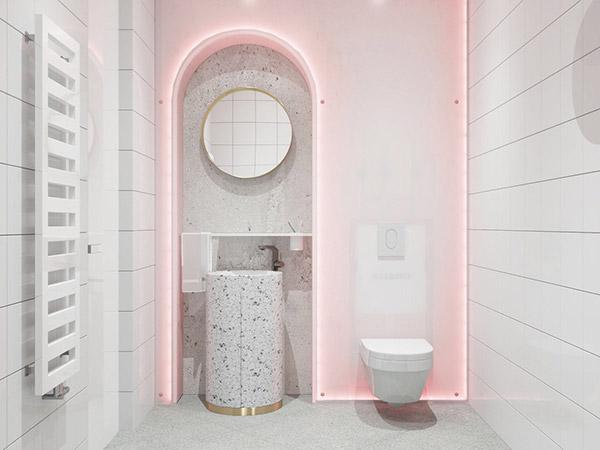 دکوراسیون دستشویی و توالت