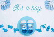 عکس نوشته تعیین جنسیت نوزاد