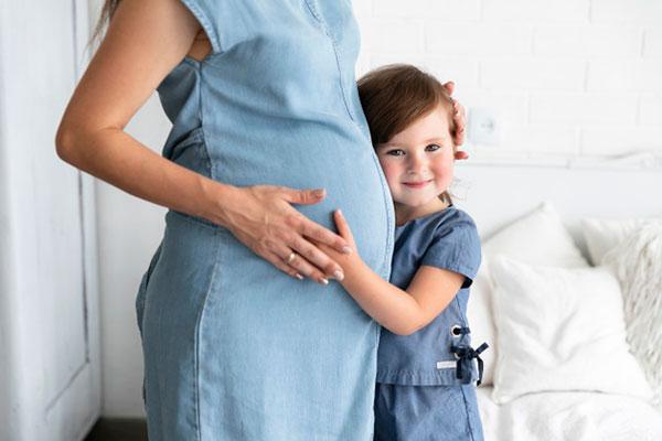 عکس پروفایل بارداری بچه دوم