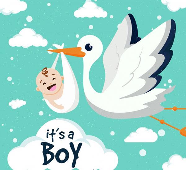عکس پروفایل بارداری پسرانه