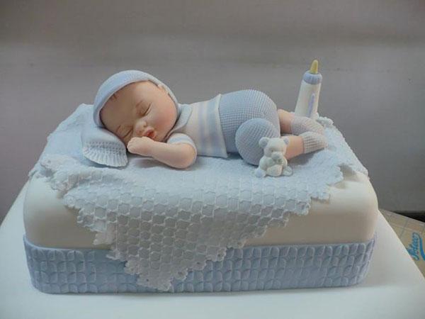 عکس کیک تعیین جنسیت نوزاد