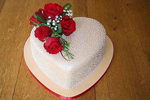 عکس کیک سالگرد ازدواج کوچک