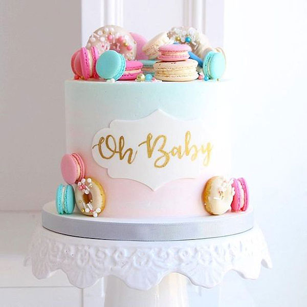 مدل کیک تعیین جنسیت نوزاد