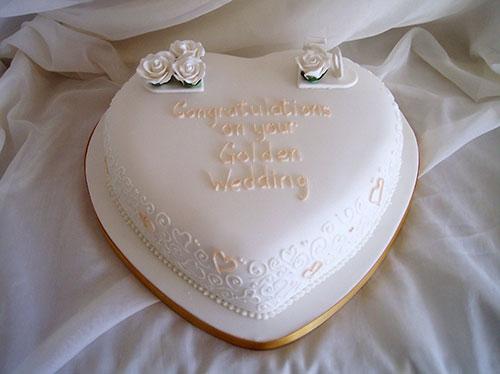مدل کیک سالگرد ازدواج قلبی