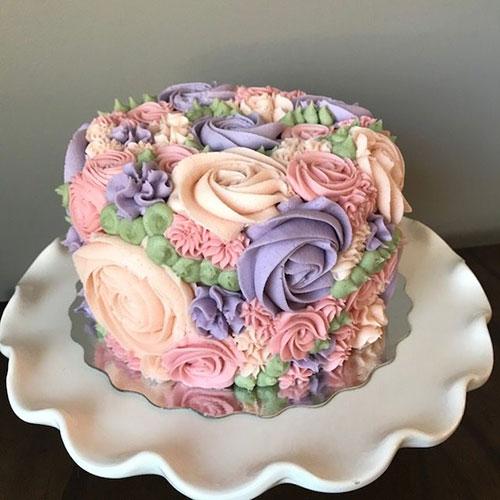 مدل کیک فوندانت سالگرد ازدواج
