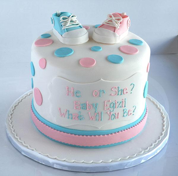 کیک تشخیص جنسیت نوزاد