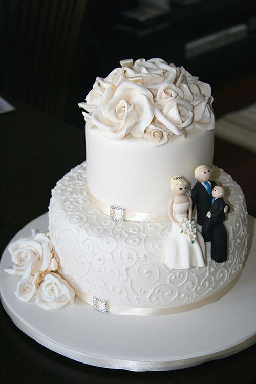 کیک مخصوص سالگرد ازدواج