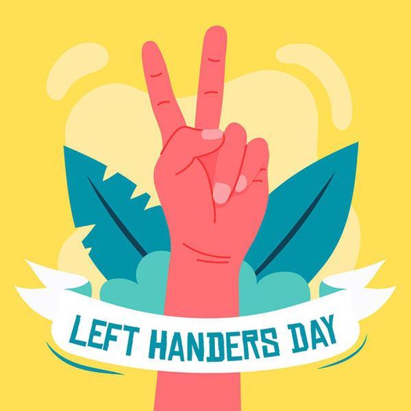 عکس روز جهانی چپ دست ها