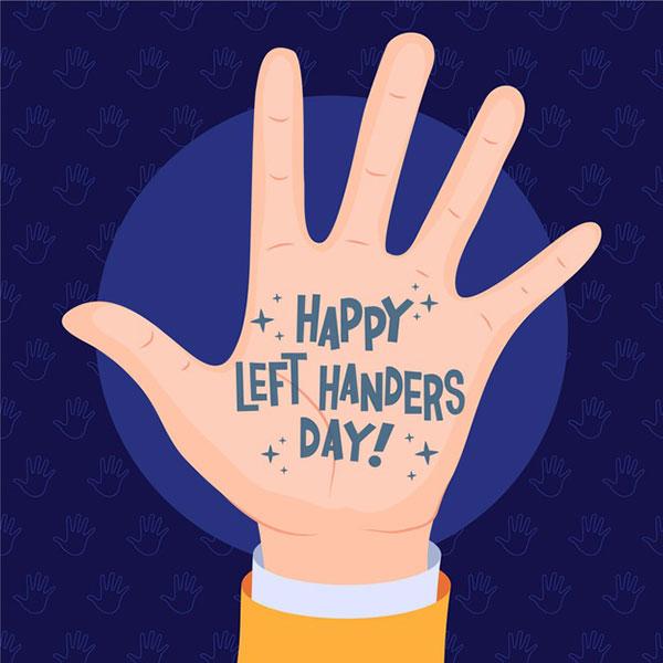عکس پروفایل انگلیسی روز جهانی چپ دست ها