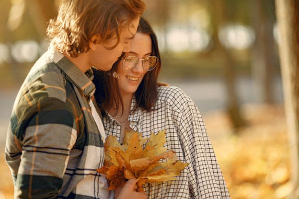 تصاویر پاییزی عاشقانه