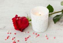 پروفایل شمع و گل رز