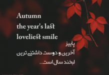 متن های انگلیسی در مورد پاییز