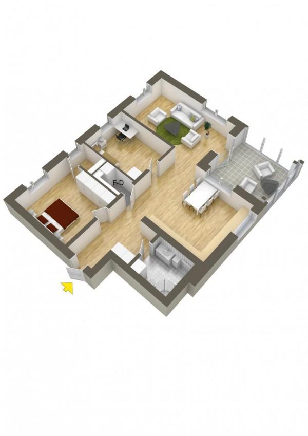 نقشه خانه دو خوابه 150 متری
