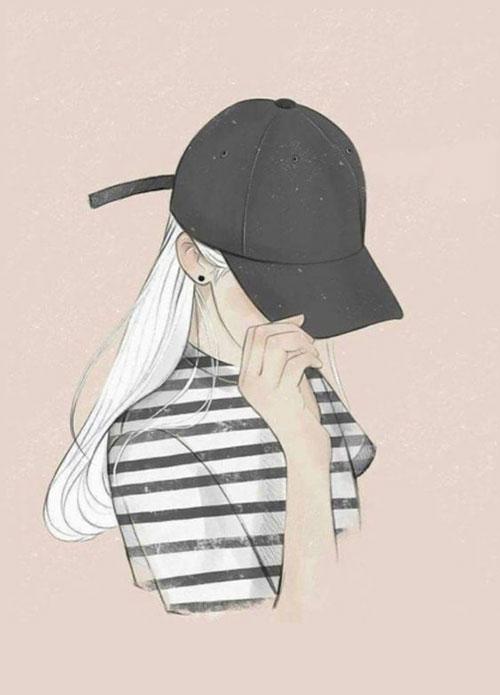 عکس پروفایل دختر انیمه ای