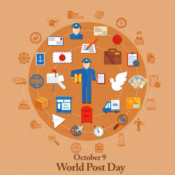 تبریک روز جهانی پست به انگلیسی
