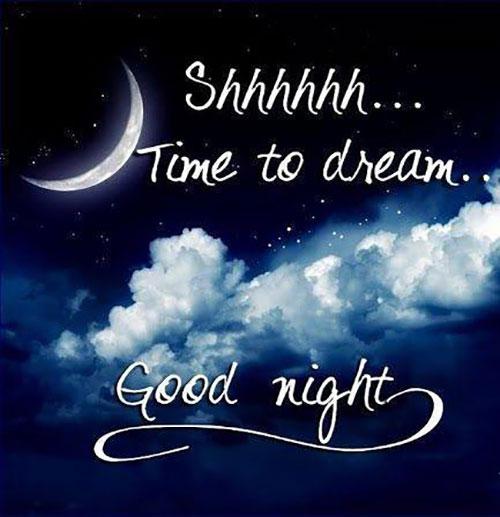 شب بخیر به انگلیسی