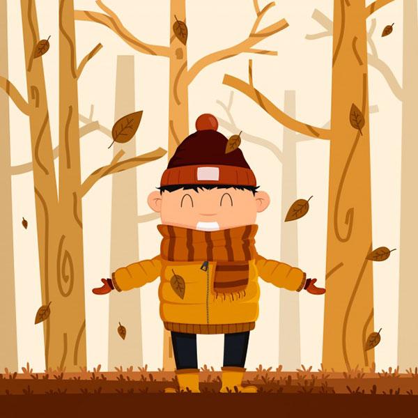 متن شعر کودکانه پاییز