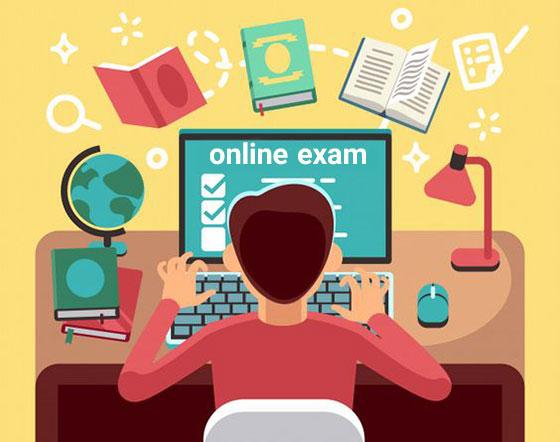 انشاء درباره آزمون آنلاین و دردسرهای آن