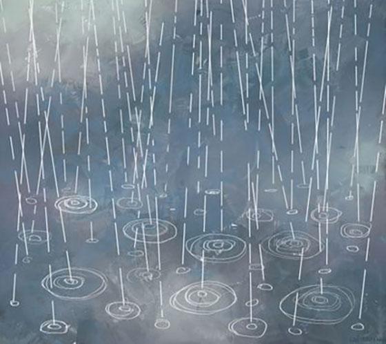 انشا با موضوع صدای باران بهاری