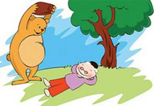 انشا با موضوع ضرب المثل دوستی خاله خرسه