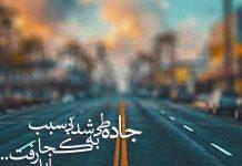 شعر عاشقانه و زیبا در مورد جاده