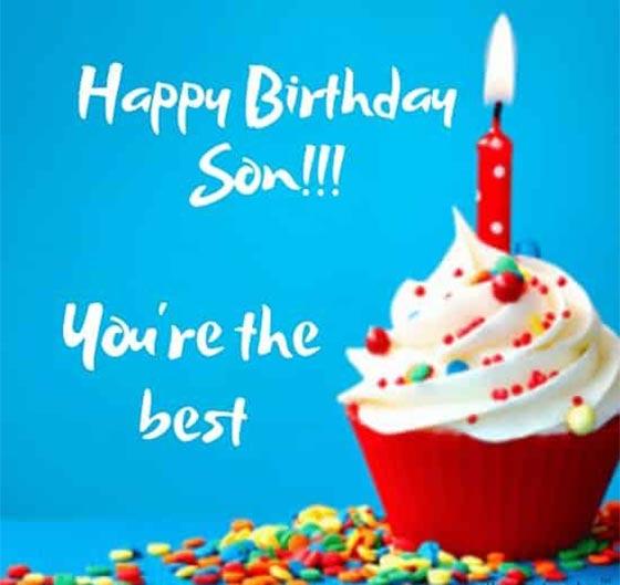 کپشن انگلیسی تولدت مبارک پسرم